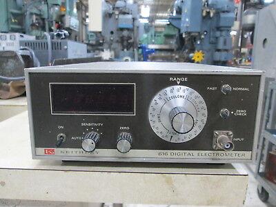 Keithley Model 616 120 Volt 1ph 10mv-100 V Analog Range Digital Electrometer