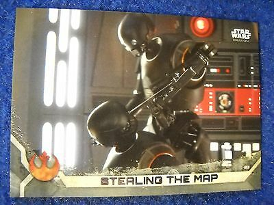 2017 Topps Star Wars Rogue One Series 2  Silver Parallel 84/100 Card #56