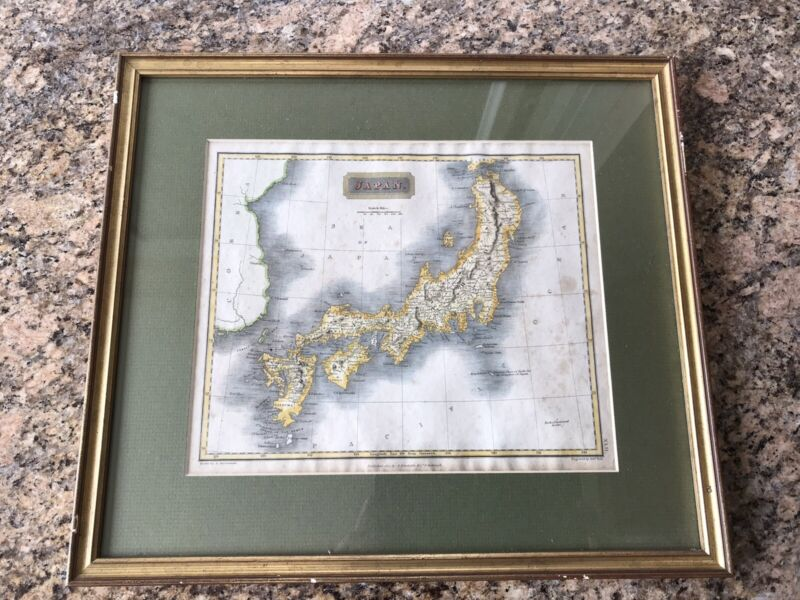 1817 A. Constable Antique Map of Japan