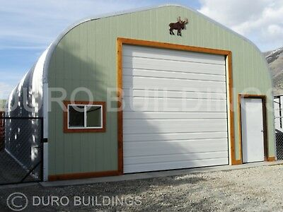 Durospan Steel 30x40x15 Metal Buildings Diy Garage Shop Open Ends Factory Direct