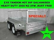 8x5 HOT DIP GALVANISED TRAILER 2000KG GVM ON SALE NOW Dandenong South Greater Dandenong Preview