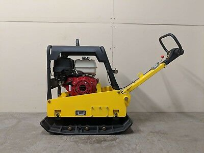 Hoc Cy350 Honda Gx390 Hydraulic Handle Reversible Plate Compactor Warranty