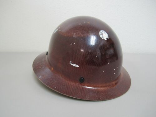 MSA Skullgard Protective Full Brim Hard Hat - Type 1 Class G - Tan
