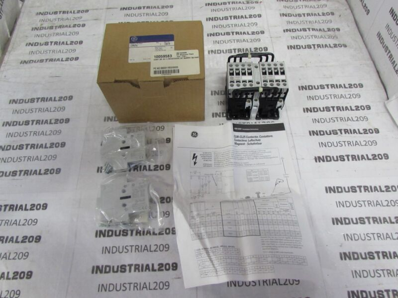 GENERAL ELECTRIC CONTACTOR CL02A310T NEW IN BOX