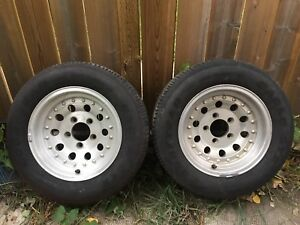 """American Outlaw 2 style aluminum rims 14"""""""
