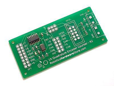 Quadrature Encoder Counter R2 - Spi Interface For Raspberry Pi And Arduino