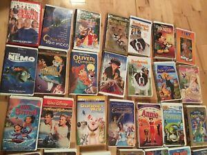 35 VHS Children Movies. (Disney)