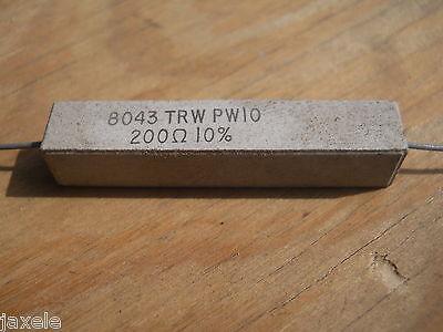 91 Ohm 10 Watt 5 Cement Power Resistor Nosnew Old Stockqty 10 Ead3