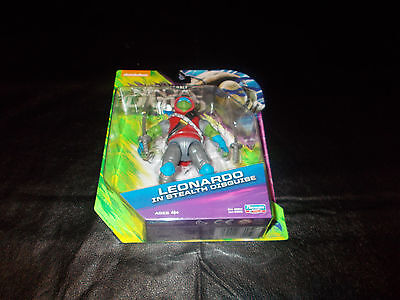 Rare Nickelodeon TMNT Out of the Shadows Leonardo in Stealth Disguise - NEW