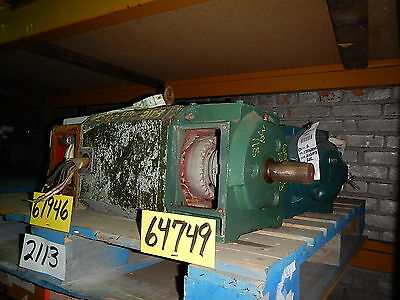15 Hp Dc Reliance Electric Motor 1150 Rpm Lc2113atz Frame Dp 240 Volt