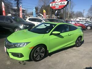 2016 Honda Civic Coupe 2016 Honda Civic Coupe - 2dr CVT EX-T