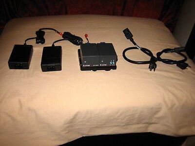 EXTRON Transmits composite video MTP T AV and Receives composite MTP R AV