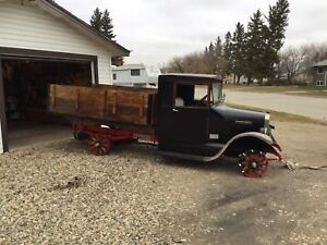 A Nice Pair!  2 x  1928 trucks - REDUCED! Huge Potential -$5500