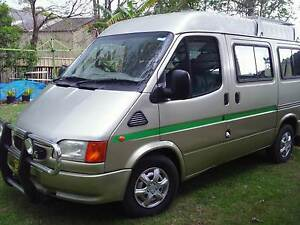 Ford Transit 1998 Campervan Tacoma Wyong Area Preview