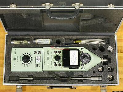 Bruel Kjaer 2209 Sound Level Meter 1613 Octave Filter Case More Used Works