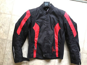 Women's small motorcycle jacket - like new