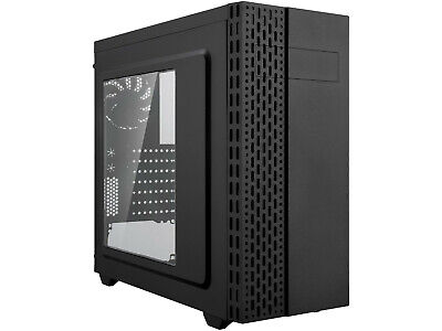 ATX Mid Tower Gaming PC Computer Case, 360mm Water Cooling Radiator Support