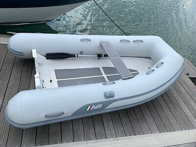 AB Ventus 9VL Inflatable Dinghy RIB 9ft | Lightweight Fibreglass Tender Boat