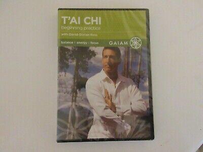 Tai Chi Beginning Practice with David-Dorian Ross (DVD 2007) New Sealed