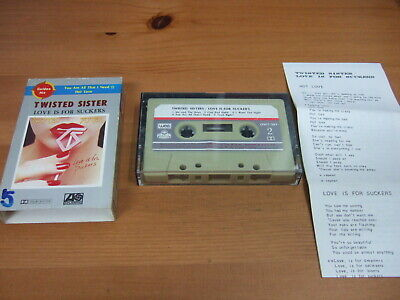 TWISTED SISTER LOVE IS FOR SUCKERS 1987 KOREA CASSETTES TAPE OLW-503
