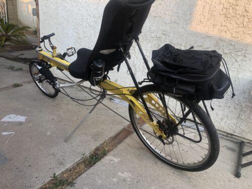 linear recumbent bicycle