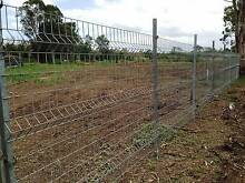 Galvanised Mesh Fence & Gates, Security, Farm, Dog runs St Marys Penrith Area Preview