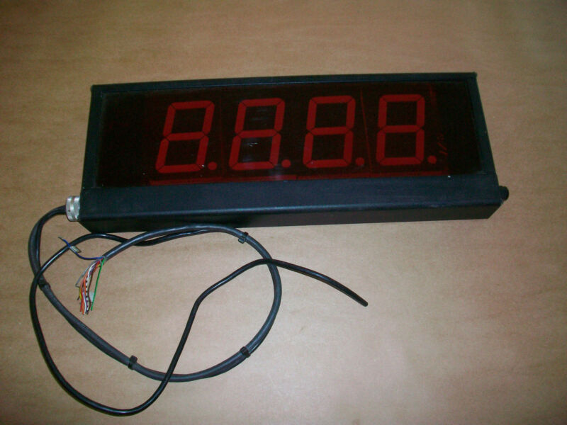 4 Digit Counter Display Marquee