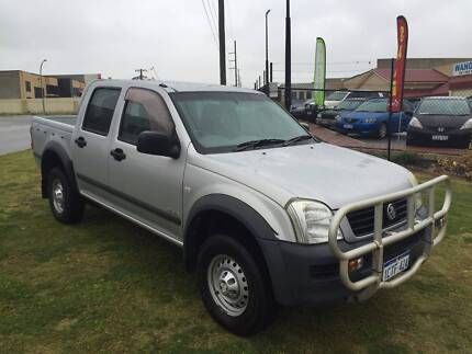 2004 Holden Rodeo LX V6 DualCab Manual Wangara Wanneroo Area Preview