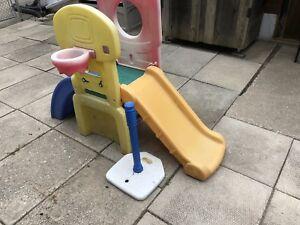 Toddler play slide   , weeeeeeeeeee!