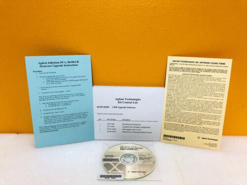 Agilent / HP / Keysight 86100-60050 CDR Upgrade Software Kit. For 86100B New!