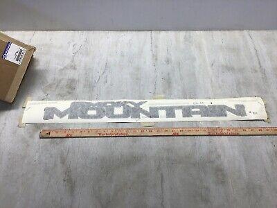 Jeep Wrangler OEM Hood Decal Smoky Mountain Mopar 6KC651X8AA