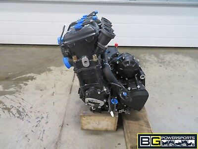 EB393 2011 11 MV AGUSTA BRUTALE B4 1090 ENGINE ASSEMBLY 1655 MILES