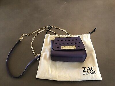 Zac Posen Small Purse With Chain, leather