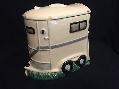 Horse Trailer Cookie Jar