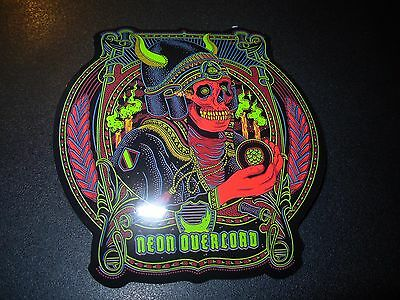 Brewdog Brew Dog Neon Overlord Hardcore Punk Sticker Decal Craft Beer Brewery