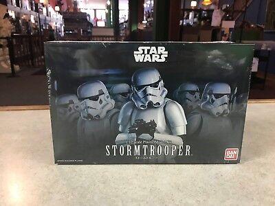 2018 Bandai Star Wars STORMTROOPER 1/12 Scale Plastic Model Kit Figure NIB - USA