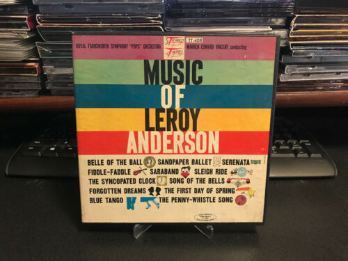 Royal Farnsworth Symphony Pops Orchestra - Music of Leroy Anderson Reel to Reel