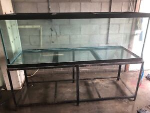 200 Gallon Fish Tank With Stand Used Pickup Only Cannot Ship