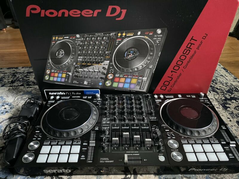 Pioneer DDJ1000SRT 4 Channel Club DJ Controller, With Extra Power Supply