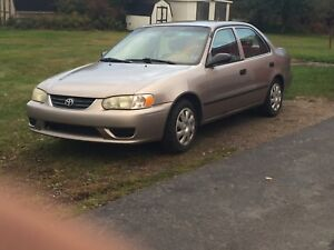 Looking for a 5 spd transmission for a 2000 corolla