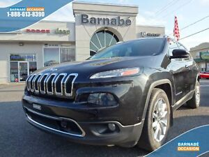 Jeep Cherokee FWD LIMITED + SAFETYTECH + TOIT + CUIR + SIÈGES CH