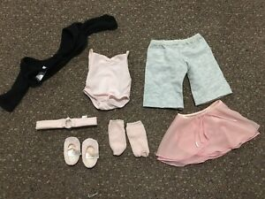 American girl 2 in 1 dance outfit