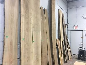 Live edge lumber for sale. Lots available!