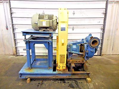 Rx-3609 Metso Mm200 Lhc-d 8 X 6 Slurry Pump W 30hp Motor And Frame