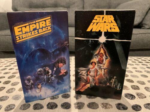 Star Wars Empire Strikes Back VHS 1977 Theatrical Version FOX 1992 Vintage