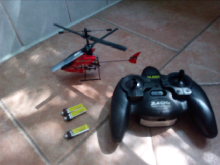 Balde scout 3ch helicopter