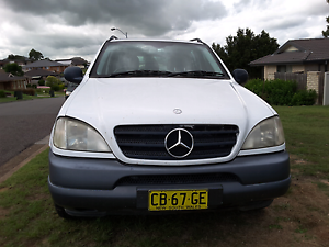 2001 Mercedes-Benz ML Wagon Rutherford Maitland Area Preview