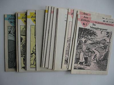Arca Bildhefte, Kleinband, Nr. 1-24, 24 Hefte
