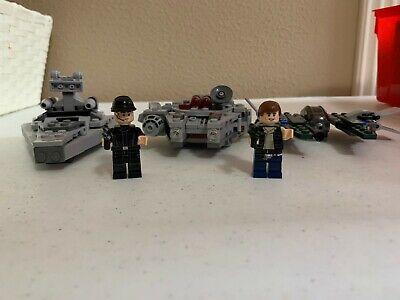 LEGO Star Wars Millennium Falcon (75030), Star Destroyer (75033), & AJI (30244)