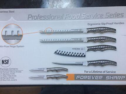 Forever sharp knives